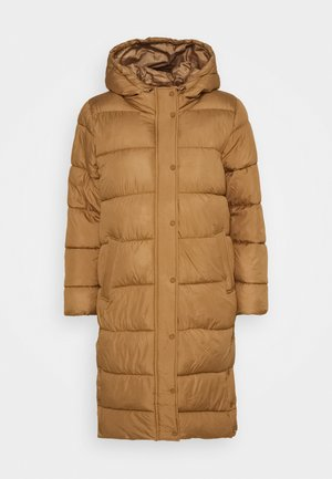 ONLNEWCAMMIE QUILTED COAT - Winter coat - toasted coconut