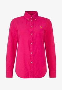 Polo Ralph Lauren - RELAXED LONG SLEEVE SHIRT - Button-down blouse - accent pink - 3