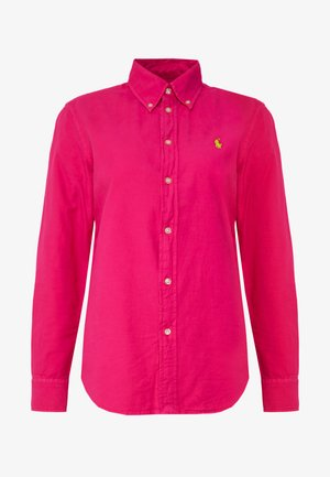 RELAXED LONG SLEEVE SHIRT - Camisa - accent pink