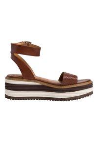 Tamaris - Platform sandals - cafe - 5