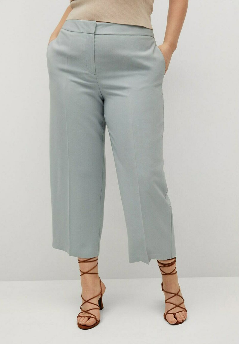 Violeta by Mango - FLOW8 - Trousers - himmelblau