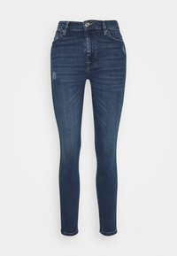 7 for all mankind - SKINNY CROP - Jeans Skinny Fit - dark blue - 0