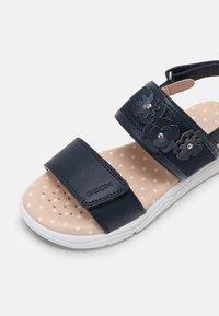 Geox - DEAPHNE GIRL - Sandals - navy - 6