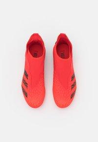 adidas Performance - PREDATOR FREAK .3 LL FG UNISEX - Kopačky lisovky - red - 3