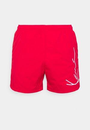 SIGNATURE BOARD - Short de bain - red
