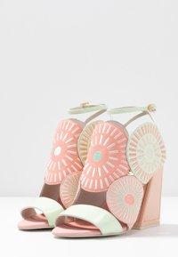 Kat Maconie - FRIDA - Sandály na vysokém podpatku - seashell/multicolor - 4