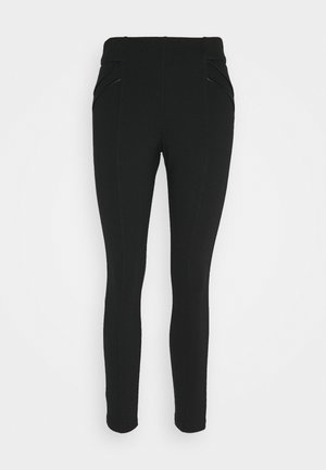 PONTE - Leggings - black