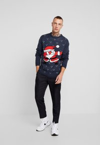 Only & Sons - ONSXMAS  - Strickpullover - blue nights - 1
