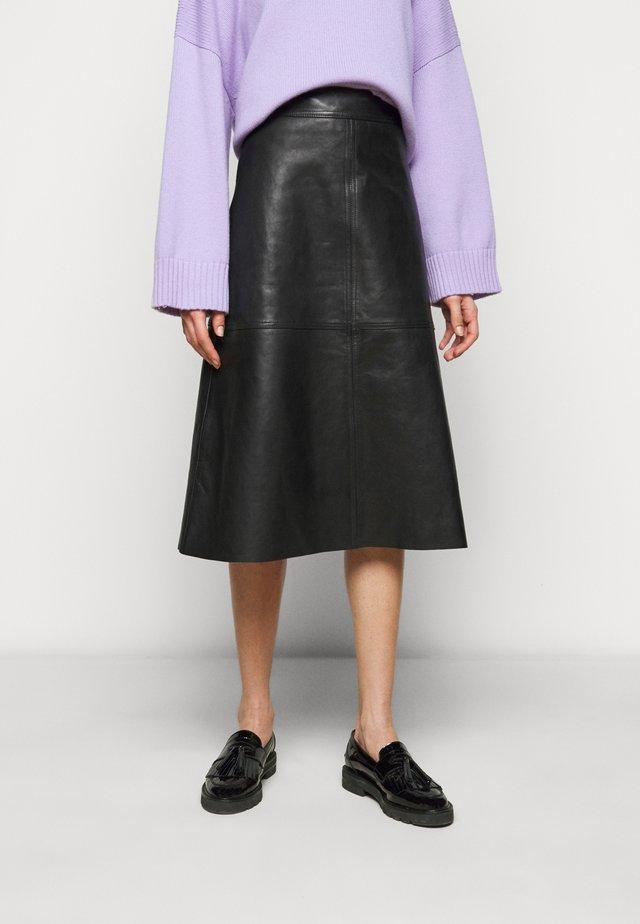 ELOISE - A-snit nederdel/ A-formede nederdele - black