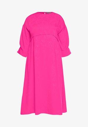 TRIM DETAIL MIDI DRESS - Vestito estivo - pink