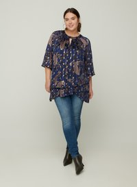 Zizzi - Blouse - dark blue - 1