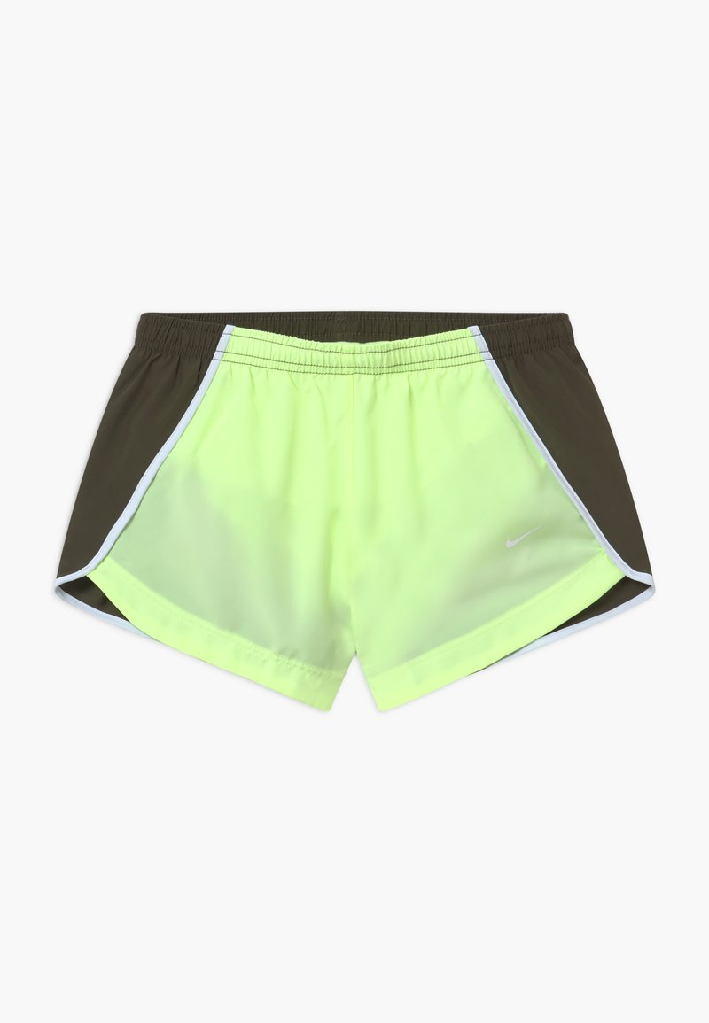 Nike Performance - DRY SPRINTER SHORT - Sports shorts - barely volt/cargo khaki/white/