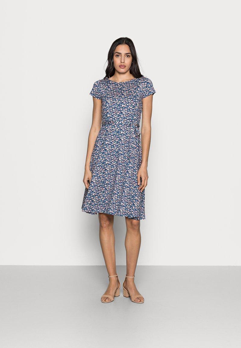 King Louie - SALLY DRESS PERRIS - Jersey dress - dutch blue