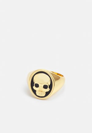 CLIVE SKULL RING - Sormus - gold-coloured