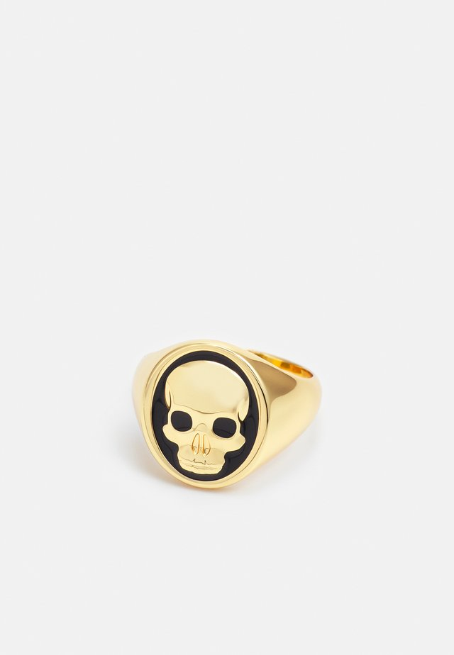 CLIVE SKULL RING - Anello - gold-coloured