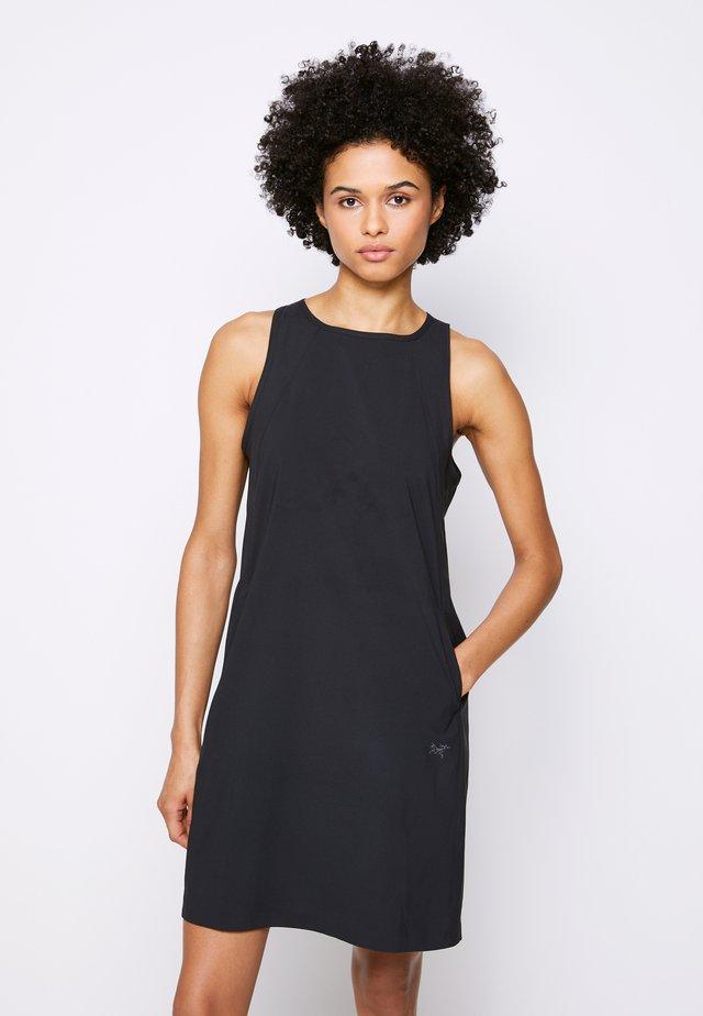 CONTENTA SHIFT DRESS WOMENS - Vestito estivo - black
