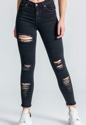 RR DISTRESSED  - Jeans Skinny Fit - black