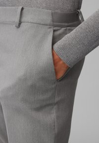 Marc O'Polo - TORUP - Trousers - middle stone melange - 3