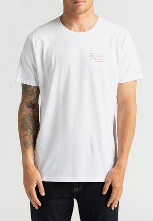 DIE CUT THEME  - Print T-shirt - white