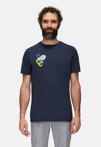 Mammut - MASSONE MEN - T-shirt z nadrukiem - marine prt - 0