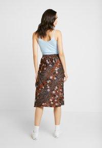Vero Moda - VMISABEL SKIRT - A-line skirt - brown - 2