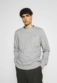 GANT - ORIGINAL C NECK - Sweatshirt - grey melange - 0