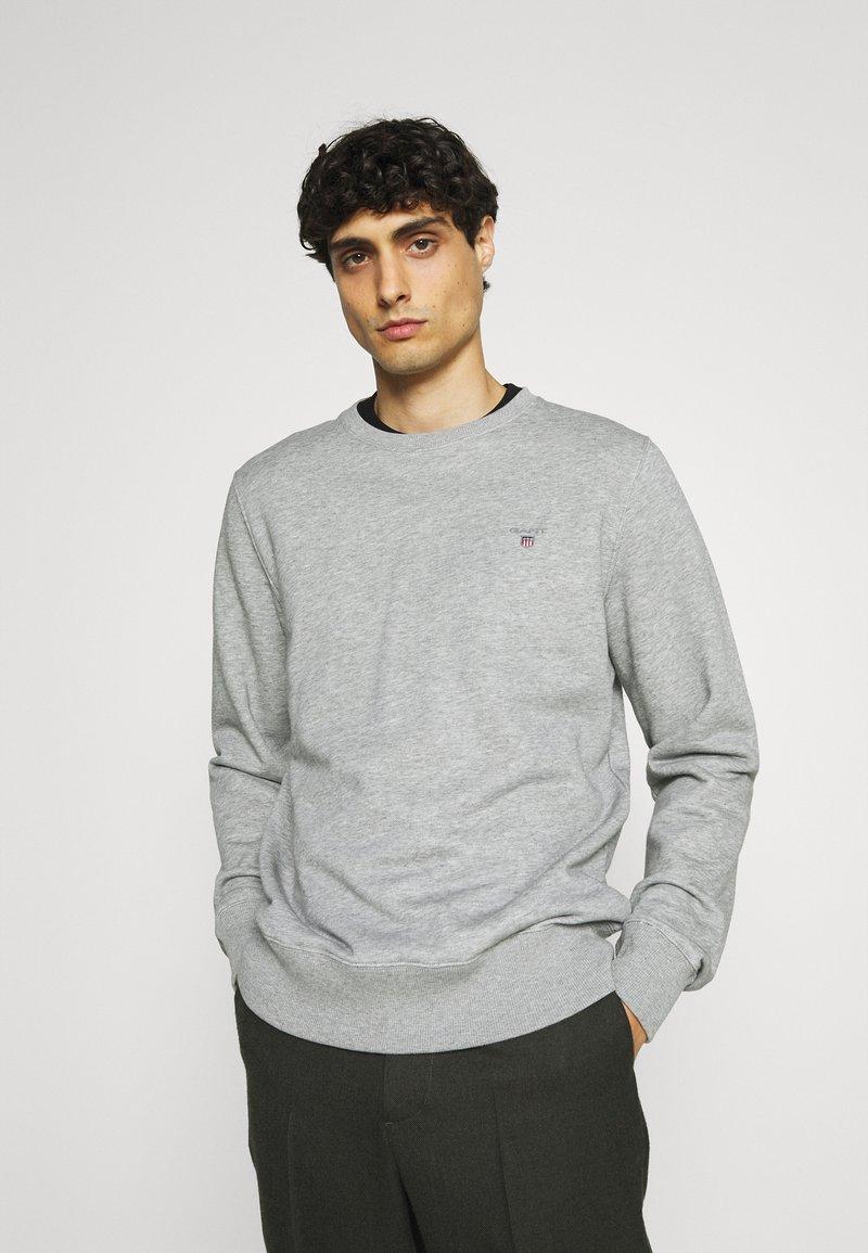 GANT - ORIGINAL C NECK - Sweatshirt - grey melange