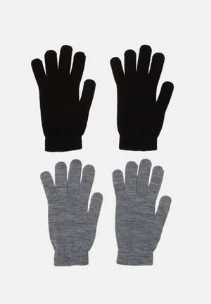 JACHENRY GLOVES 2 PACK - Handschoenen - black/grey melange