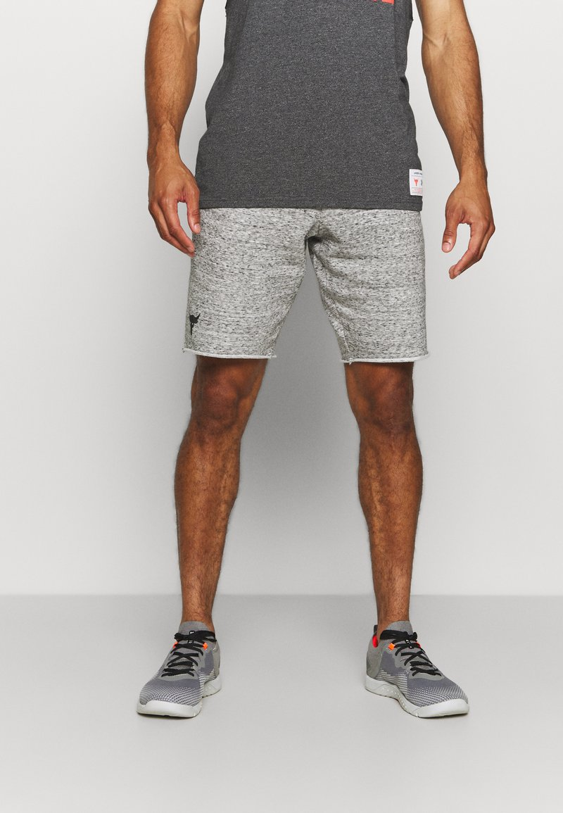 Under Armour - PROJECT ROCK SHORTS - Sports shorts - grey