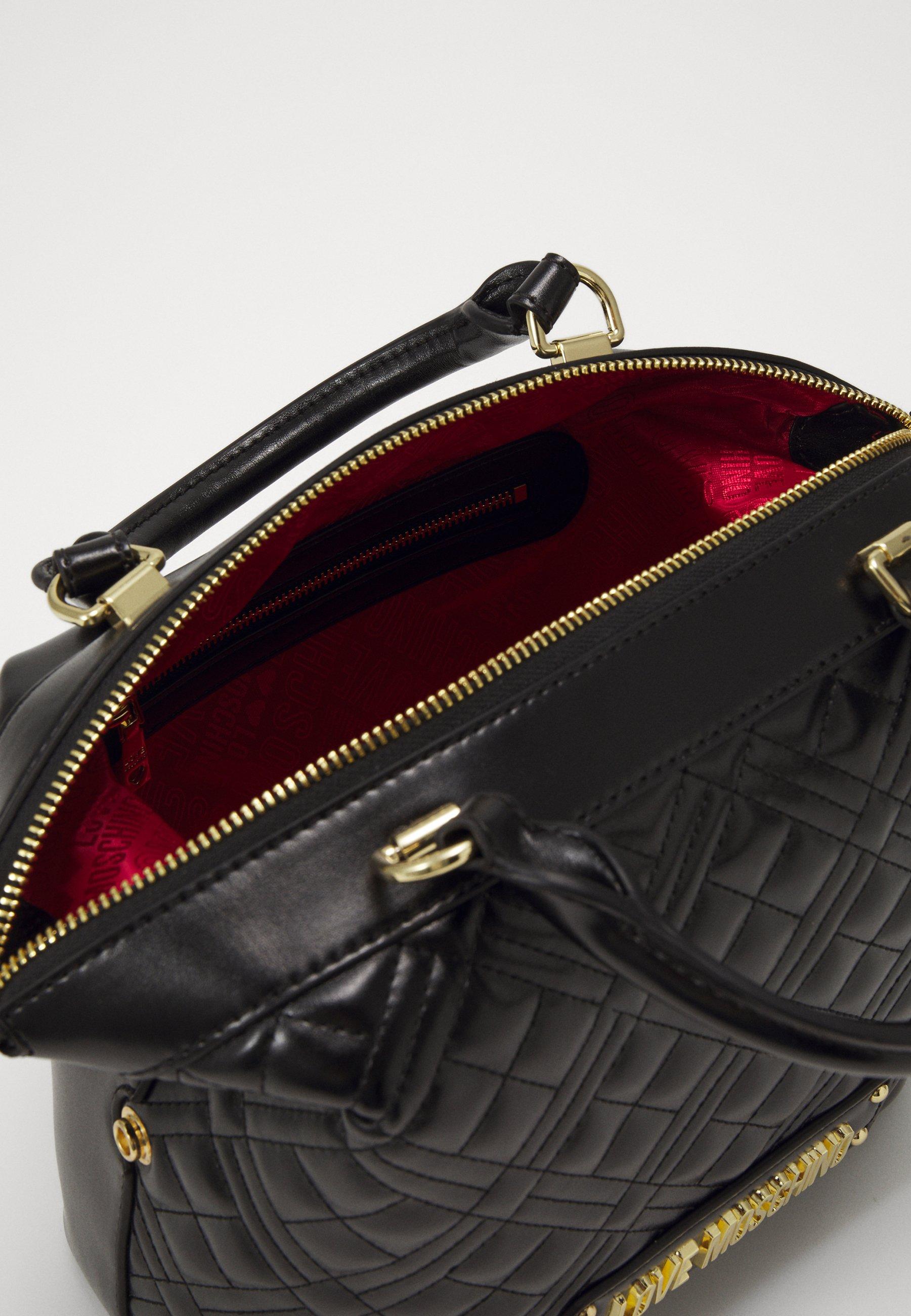 Love Moschino BORSA QUILTED - Håndveske - black/svart Ny2cR5SitkIxUrd