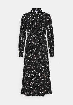 VMODEA CALF DRESS  - Skjortklänning - black/odea birch