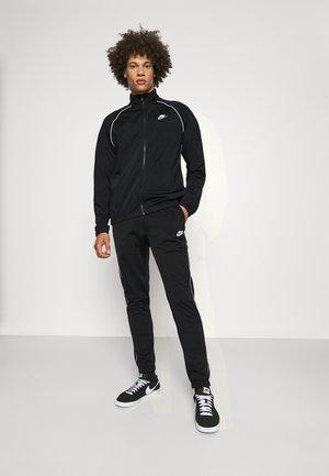 SUIT SET - Training jacket - black/white