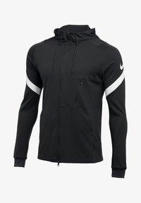 Nike Performance - Zip-up hoodie - schwarzweiss - 0