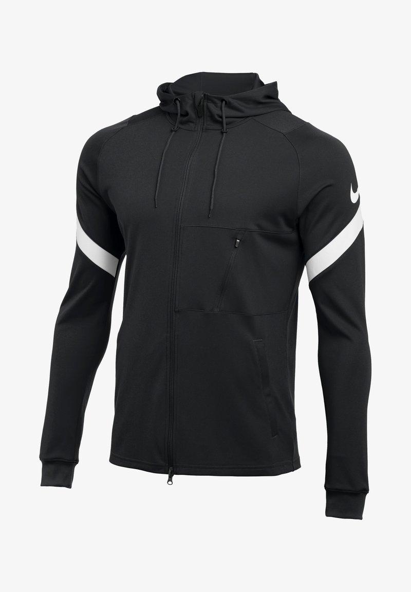 Nike Performance - Zip-up hoodie - schwarzweiss