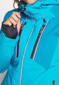 CMP - WOMAN JACKET FIX HOOD - Ski jacket - danubio - 5