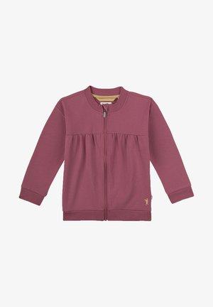 Sweater met rits - lila
