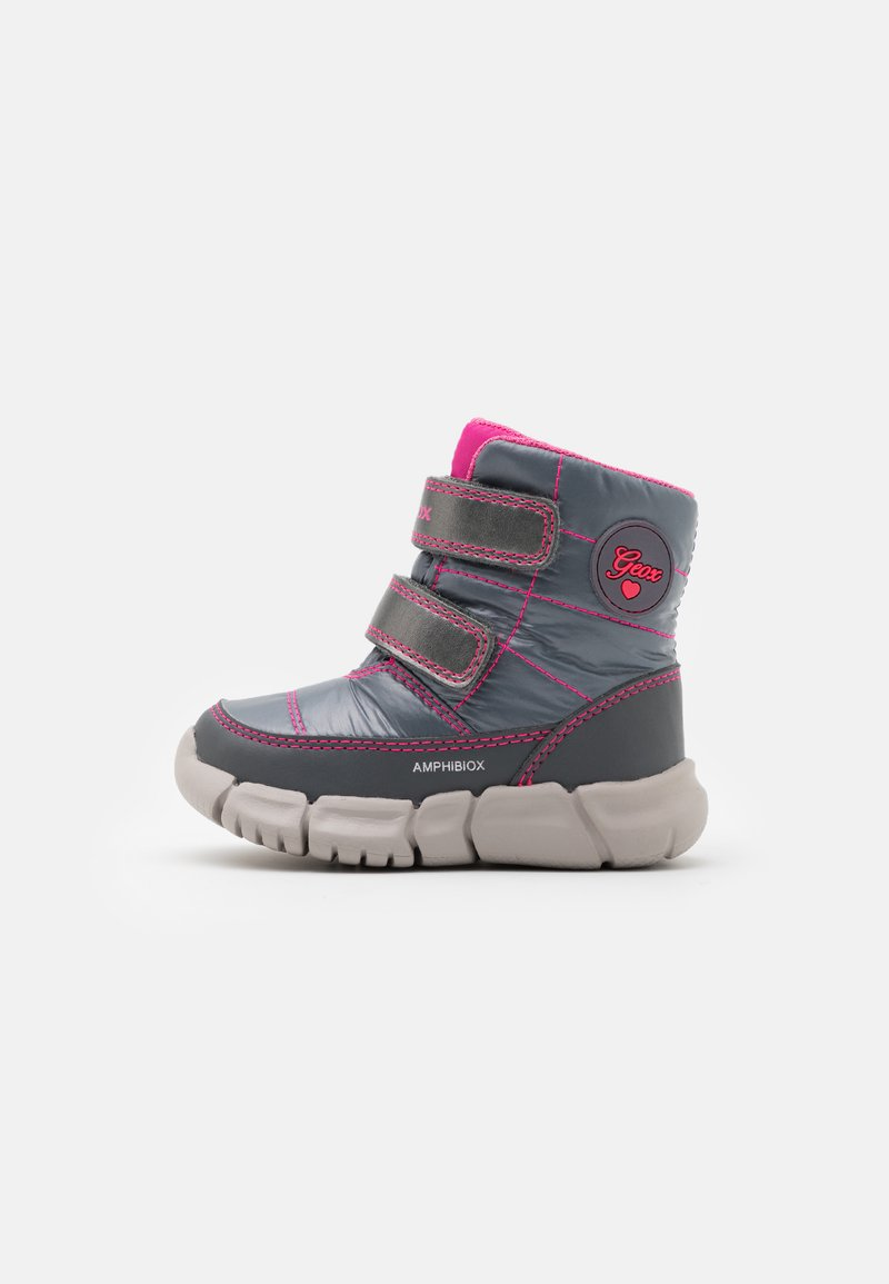 Geox - FLEXYPER GIRL - Winter boots - silver