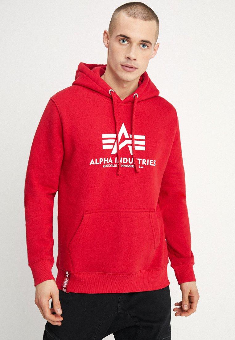 Alpha Industries - Luvtröja - speed red