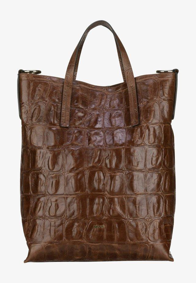 JULIE - Handbag - cognac