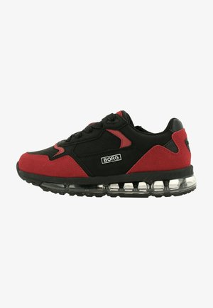 Sneakers laag - blk red