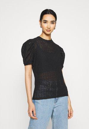 PCGLORIA - T-shirt con stampa - black