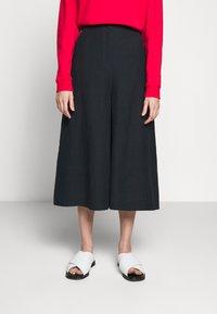 McQ Alexander McQueen - TROUSERS - Trousers - deep ink - 0