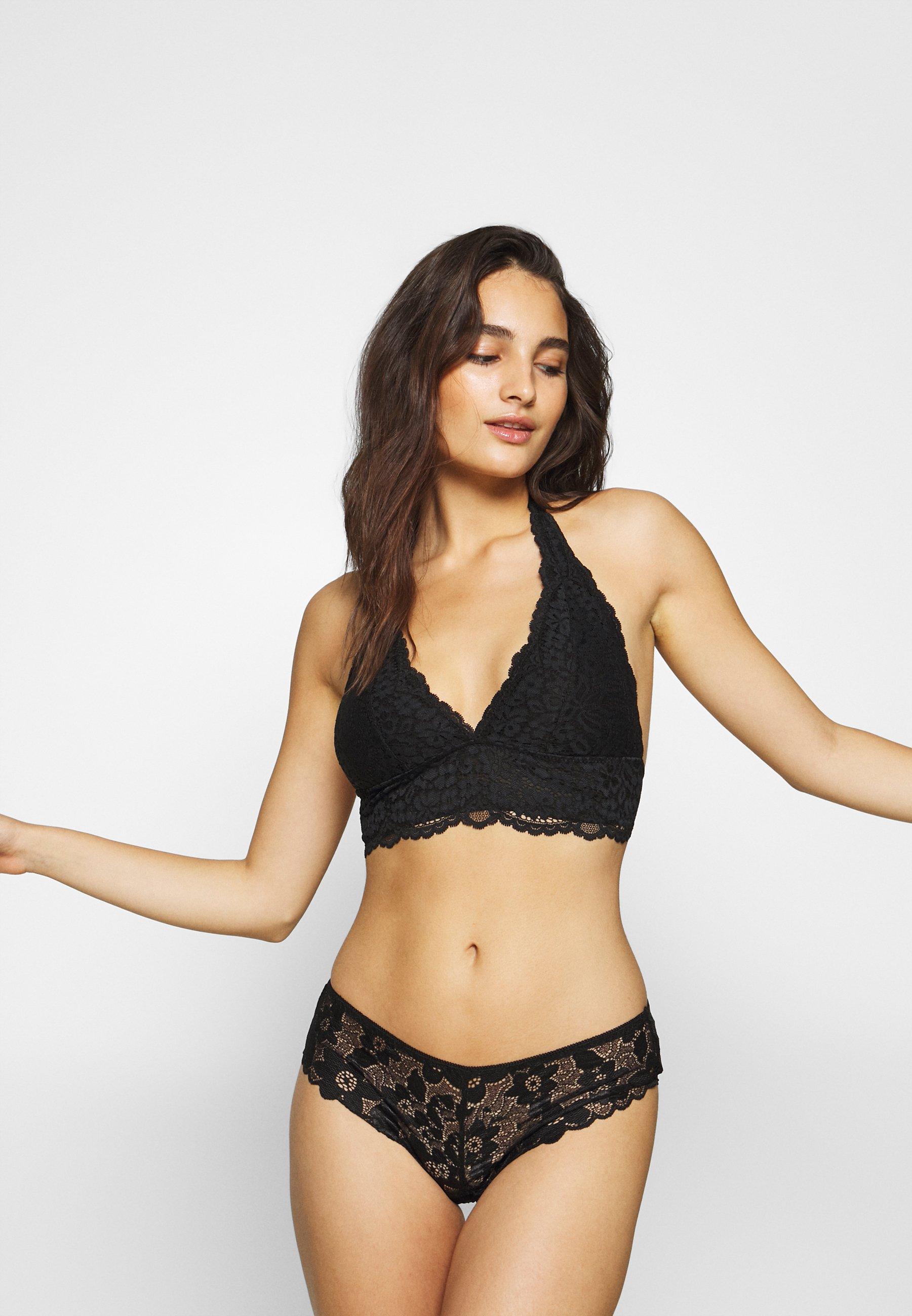 Women ROSE HALTER BRALETTE - Triangle bra