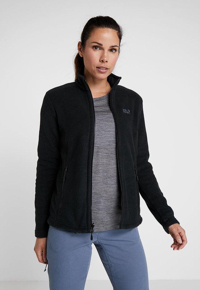 W MOONRISE JKT - Fleece jacket - black