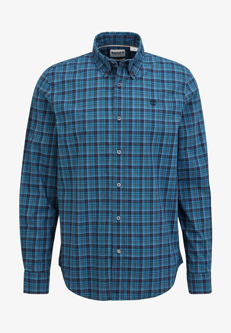 Timberland - POPLIN SF - Shirt - lyons blue yd