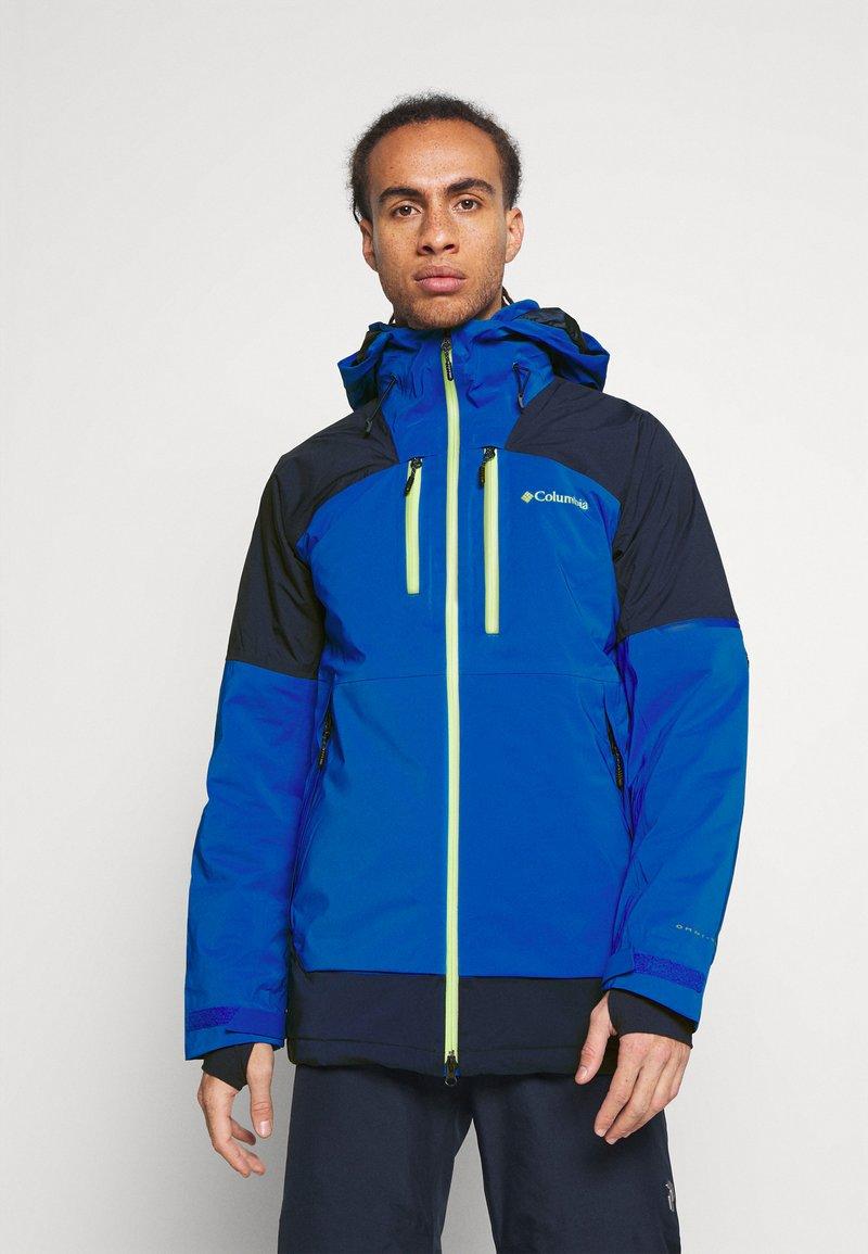 Columbia - WILD CARDJACKET - Snowboard jacket - bright indigo/collegiate navy