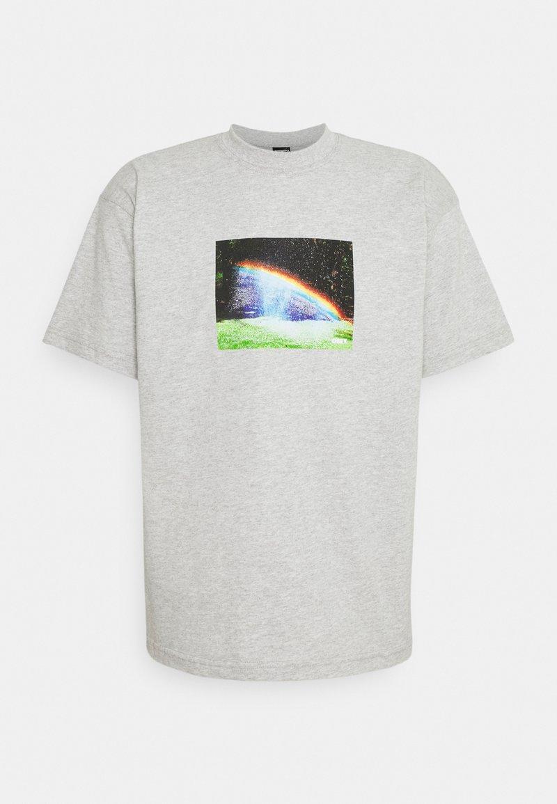 Obey Clothing - RAINBOW - Printtipaita - heather grey