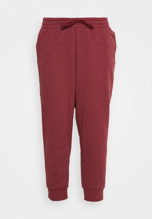 PANT - Tracksuit bottoms - legend red/white