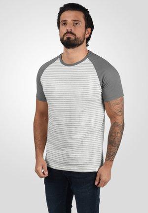 Print T-shirt - mid grey