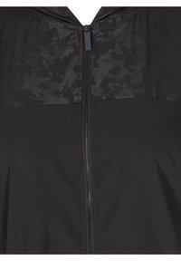 Active by Zizzi - Summer jacket - black - 2